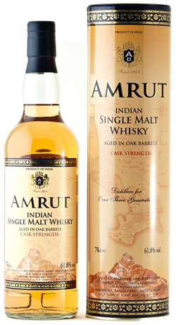 Amrut Single Malt Whiskey